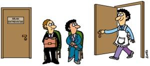 Padres que vuelven al trabajo después de un tiempo en casa