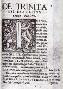 De Trinita - Portada del libro de errores acerca de la Trinidad