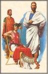 Escena de Actores Griegos